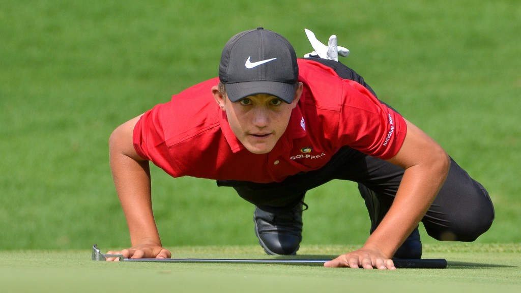 Christiaan Maas is in the quarter-final of the 2020 South African Amateur Championship at Royal Johannesburg & Kensington