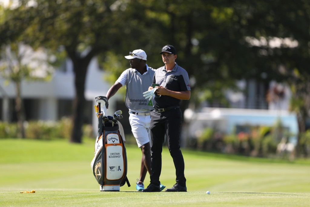 Christiaan Bezuidenhout stormed into the first round lead at the 2020 Dimension Data Pro Am at Fancourt