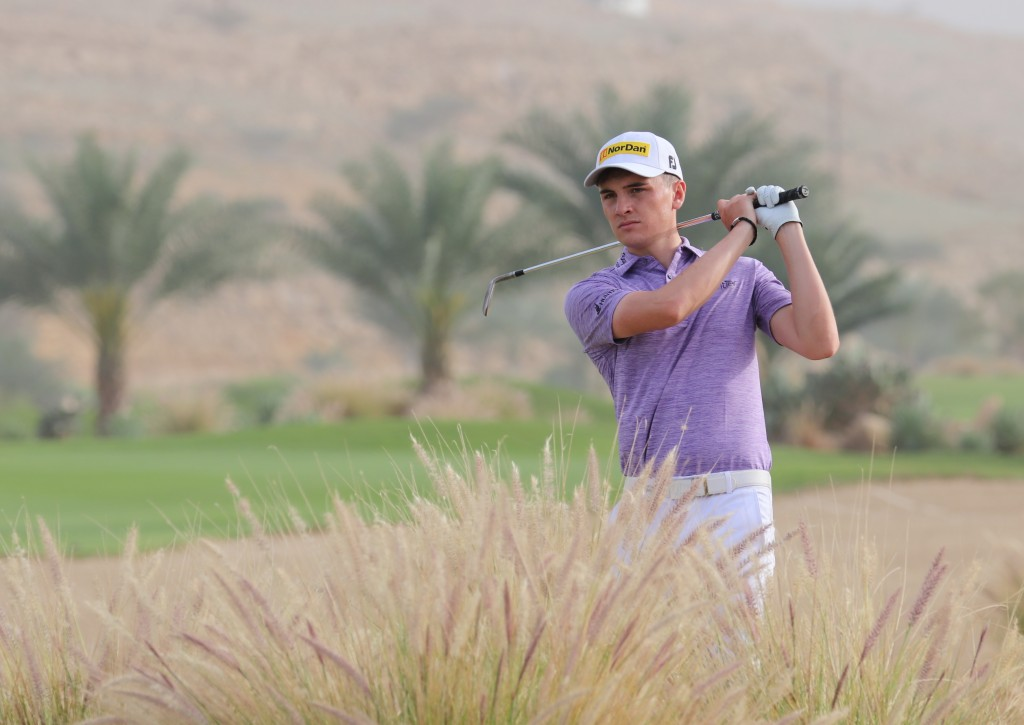 Scotland's Sam Locke one of six players in second place in the MENA Tour's 2020 Ghala Open