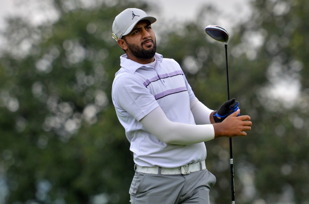 The Kendleshire's Haider Hussain who was second after the first round of the 2020 South African Stroke Play Championship at Randpark Golf Club