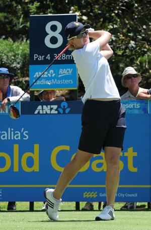 Australia's LPGA and LET Major winner Karrie Webb