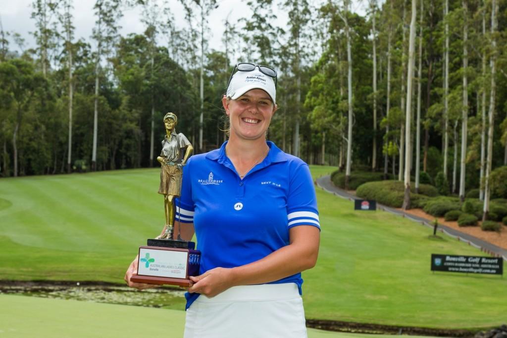 Last year's Australian Ladies Classic winner Marianne Skarpnord. Picture by TRISTAN JONES
