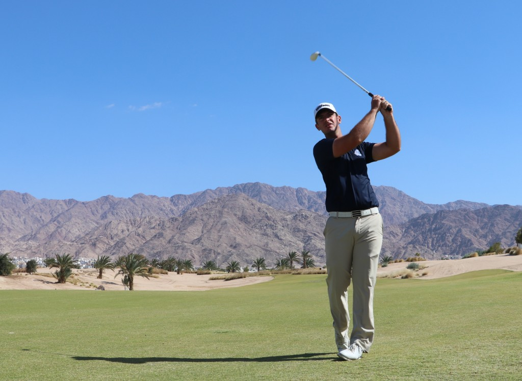 Castle Royle's David Langley leads the MENA Tour's Journey to Jordan order of merit heading into the 2020 Journey to Jordan No. 2 tournament at Ayla Golf Club