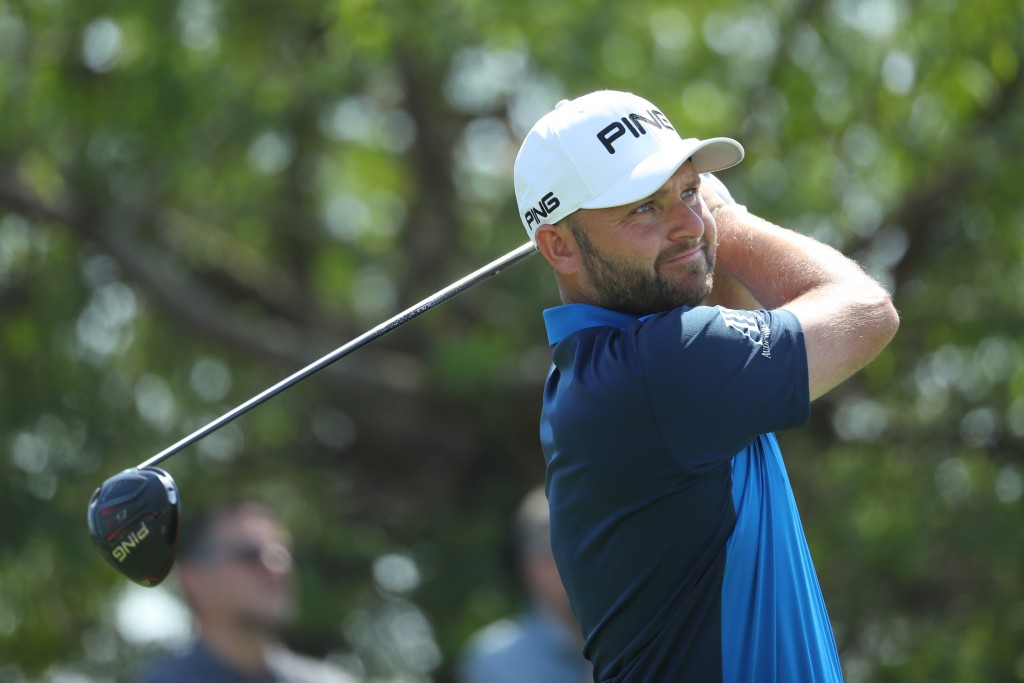Andy Sullivan is tied at the top of the Commercial Bank Qatar Masters leaderboard alongside Spaniard Jorge Campillo on 10-under at Education City Golf Club