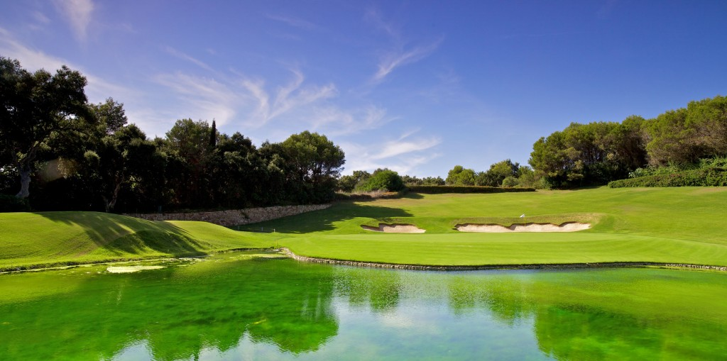 The famous par five 17th hole at Valderrama – the 2020 Andalucia Masters has been postponed because of the ongoing threat from the coronavirus pandemic