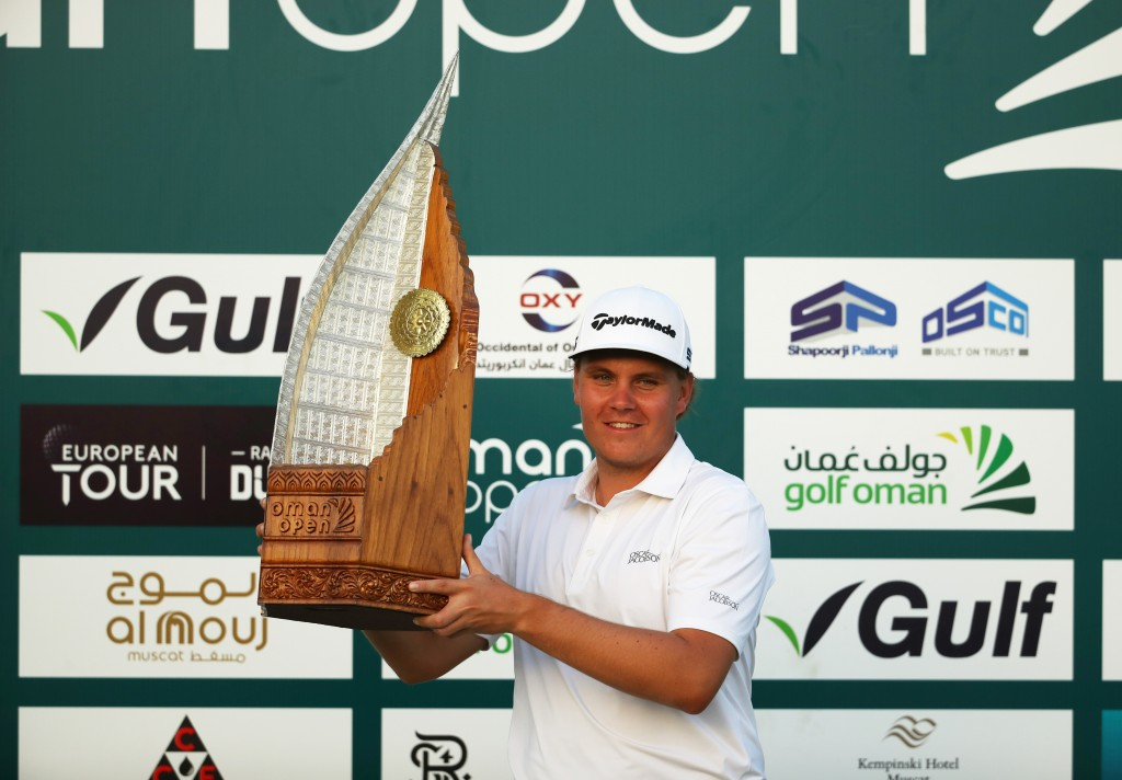 2020 Oman Open winner Sami Valimaki – the third player from Finland to win on the European Tour