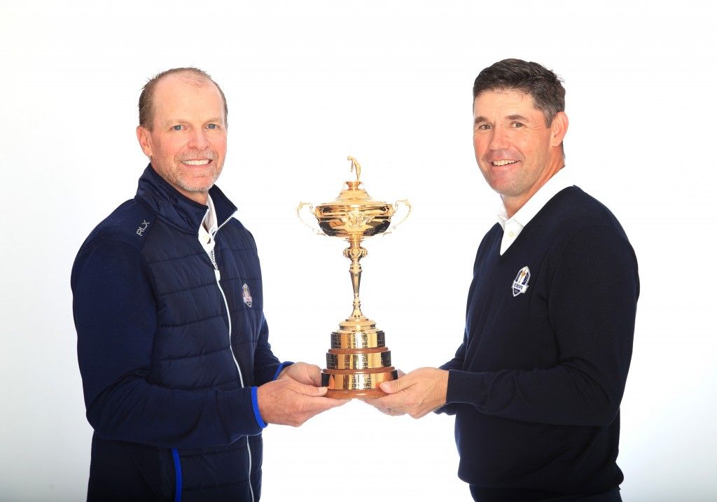Ryder Cup captains Steve Stricker and Padraig Harrington