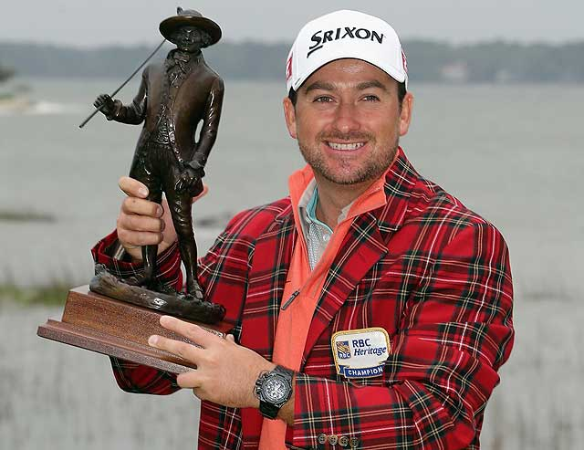 Graeme McDowell the 2013 RBC Heritage winner at Hilton Head