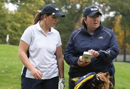 Welsh international Natasha Gobey earned a golf scholarship at the University of Toledo