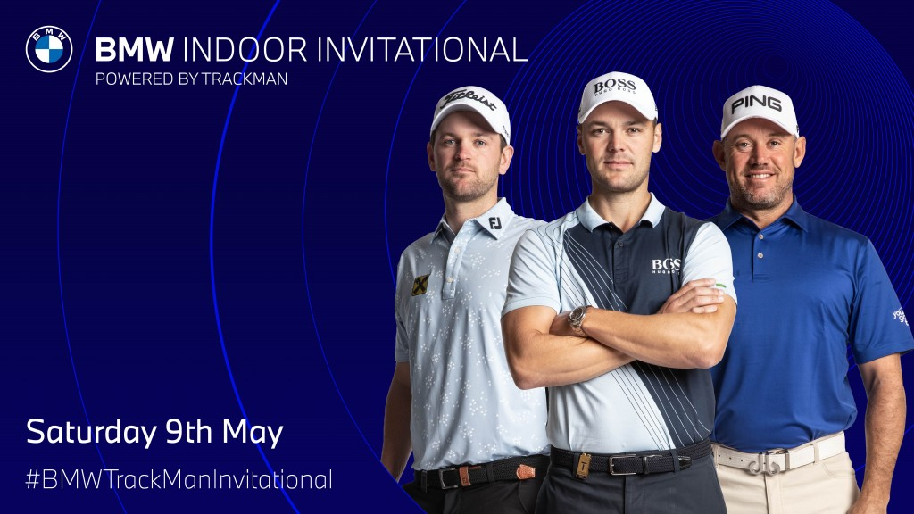Martin Kaymer, Lee Westwood and Bernd Wiesberger have entered the BMW Indoor Invitational