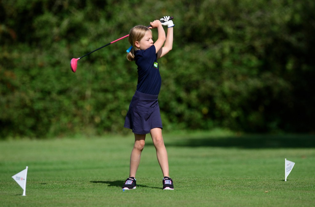 Some 50,000 young golfers were introduced to the game by the Golf Foundation in 2019