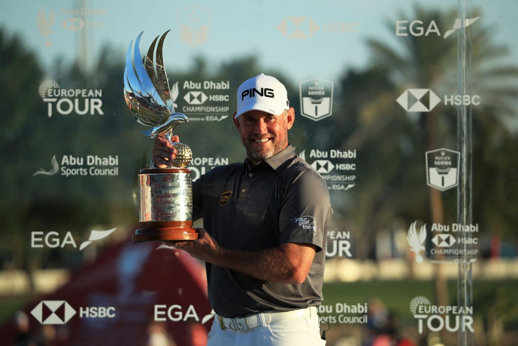 Lee Westwood's victory in the Abu Dhabi HSBC Championship in January was his 25th victory on the European Tour and increased his chances of making an 11th Ryder Cup. Picture by GETTY IMAGES