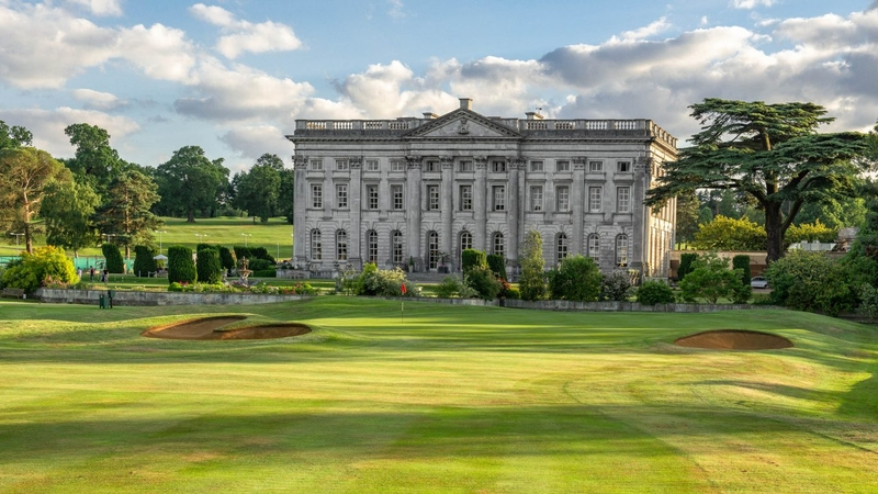 Moor Park Golf Club's famous clubhouse