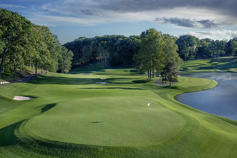 The TPC River Highlands course in Hartford, Connecticut,