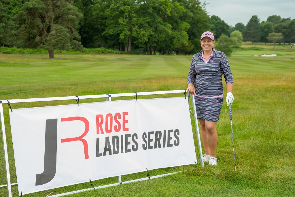 Liz Young who founded the first Rose Ladies Series event at Brokenhurst Manor