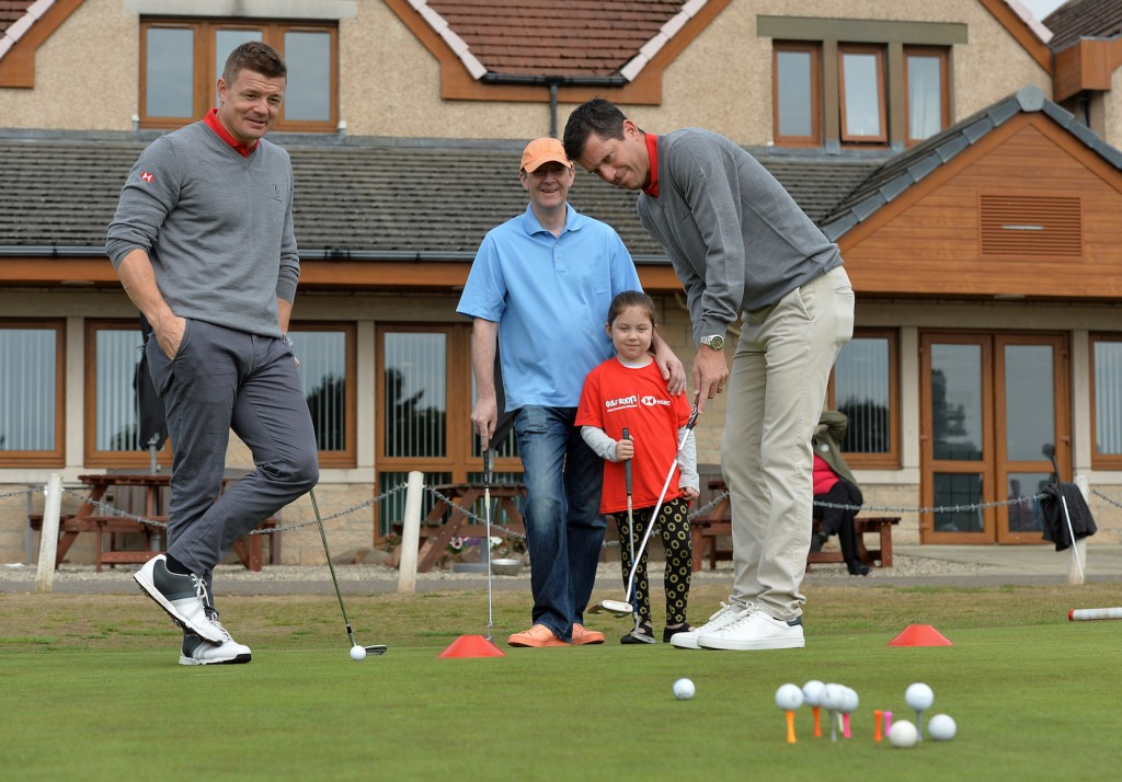 Tim Henman is supporting the Golf Foundation's Golf is Open for Kids campaign during what would have been the week of the 2020 Open