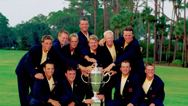 The 2001 Great Britain and Ireland Walker Cup team featured Marc Warren, Luke Donald, Nick Dougherty and Graeme McDowell