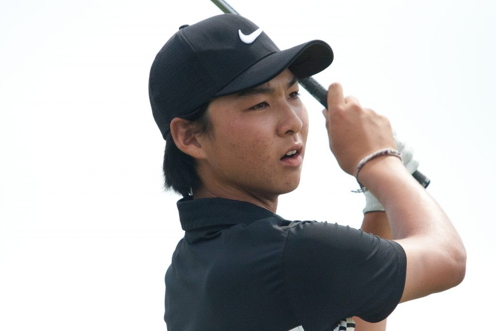 Australia's former US Junior Champion Min Woo Lee