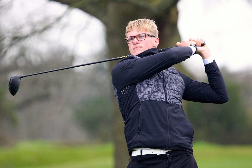 Somerset's Walker Cup player Tom Plumb
