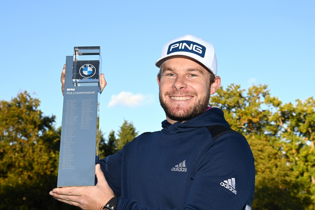 2020 BMW PGA Championship winner Tyrrell Hatton