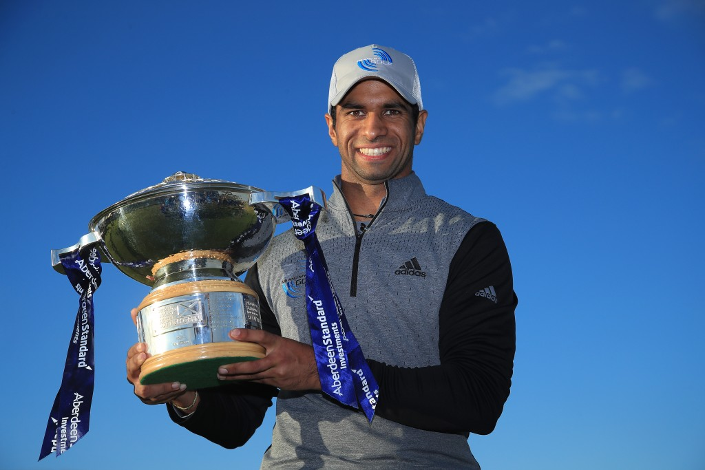 Aaron Rai beat Tommy Fleetwood in a play-off to capture the 2020 Aberdeen Standard Investments Scottish Open at The Renaissance Club
