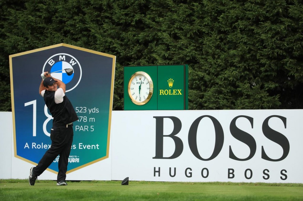 Race to Dubai leader Patrick Reed is playing in the 2020 BMW PGA Championship at Wentworth