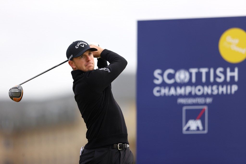 Matt Wallace was the bookies' favourite to land the Scottish Championship with a round to go