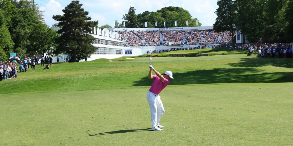 Tommy Fleetwood and the other English players will have to get to used to having now crowds at Wentworth in this week's BMW PGA Championship